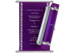 Purple Velvet Scroll with Silver case Scroll Wedding Invitations, Scroll Invitation, Invites, Menu Cards, Table Cards, Money Envelopes, Purple Themes, Sweet Box, Metallic Paper