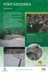 """EXPOSICIÓ TEMPORAL: """"FONTS D'AIGUA A COLLSEROLA""""  Del 30 de gener fins el 3 d'abril de 2016, al centre d'informació del Parc Natural de la Serra de Collserola Mostra que ens permet conèixer 15 fonts de Collserola, com són i com arribar-hi.  Autors: Ajuntament de Sant Just Desvern- Fes Font Fent Fonting.  http://www.parcnaturalcollserola.cat/pages/agenda"""
