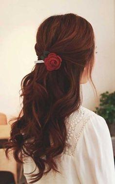 23.Dark Auburn Hair
