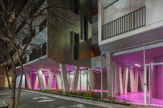 Veritable Schaufassade - Sozialer Wohnungsbau in Paris