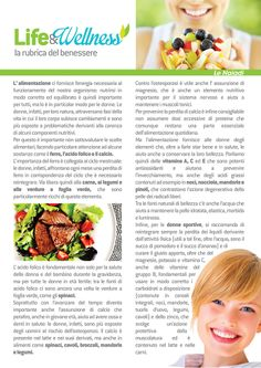 Life&Wellness #1: Donne e alimentazione