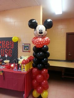Plan a Mickey Mouse birthday that captures the magic of Disney. We've got tons of pictures to share that will help you plan everything from the decorations to the party favors. Fiesta Mickey Mouse, Mickey Mouse Baby Shower, Mickey Mouse Clubhouse Birthday, Mickey Mouse Parties, Mickey Birthday, Mickey Party, Mickey Mouse Birthday, 2nd Birthday, Birthday Ideas