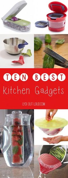 These are the BEST kitchen gadgets and gizmos for easier food prep and mega time saving!
