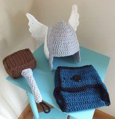THOR Baby Set PDF PATTERN by crochetherodesigns on Etsy