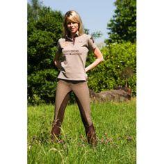 Comfortabele en de zachte rijbroek gemaakt van 60% katoen, 32% bamboe viscose met 8% Lycra® elasthan
