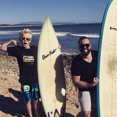 Surf's up @joshuashultz  Dreaming of surfing again once I get my cast off ~Carson Lueders