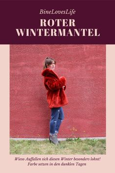 Mit viel Farbe bringt der Winter Freude German, Movie Posters, Movies, Style, Red Winter Coat, Deutsch, Glee, Colors, Nice Asses