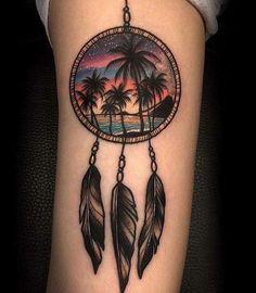 tattoo filtro dos sonhos nas costas - Pesquisa Google