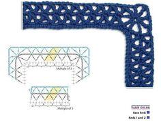 Mis Pasatiempos Amo el Crochet: Puntillas y bordes decorativos