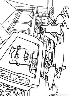 phineas and ferb coloring pages 1