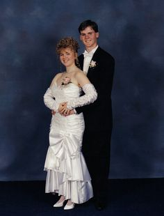 prom Each of these people, right before the biggest night of their lives, looked in the mirror, smiled and said quot; Awkward Prom Photos, Prom Pictures Couples, Prom Couples, 1980s Prom, Vintage Magazine, Nice Dresses, Prom Dresses, Prom Poses, The Wedding Singer