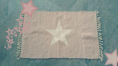 Teppiche - SUMMERSALE! Flickenteppich Stern rosé Teppich - ein Designerstück von KitschKlitsche bei DaWanda