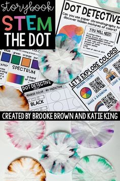 Storybook STEM challenge and language arts lesson for The Dot by Peter H. Reynolds! Perfect for International Dot Day | First Grade, Second Grade, Third Grade | Elementary STEM Activities