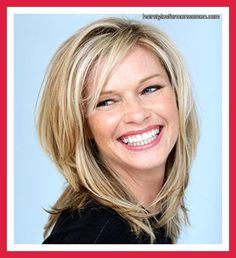 hairstyles for round faces with shoulder length hair pictures blog