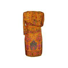 Blusón, vestido de semi seda estampada JULUNGGUL http://www.julunggul.com/vestidos-chaquetas-kimonos/657-vestido-de-semi-seda-crepe-silk-estampada--012345678912.html
