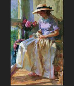 Vladimir Volegov Afternoon Warmth painting anysize 50% off
