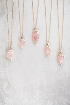 Lovoda - Arrow Spear Necklace | Pink, $18.00 (http://www.lovoda.com/arrow-spear-necklace-pink/)