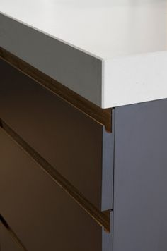 1 4001 Fresh Concrete™ - Touch Wood Cabinetry