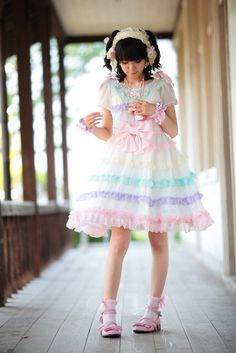87310fc59ab3 fairy lolita I love AP s soap bubbles OP. It s too cute and fluffy