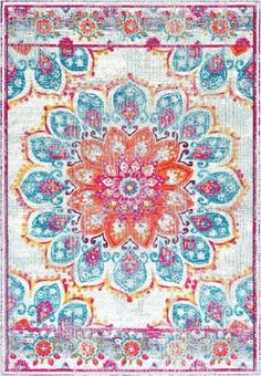 Vintage Floral Kiyoko Country & Floral Area Rug Collection Runner 2'8'x8'0' in Pink Color