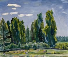Kansallisgalleria - Taidekokoelmat - Kesämaisema Painting, Art, Art Background, Painting Art, Kunst, Paintings, Performing Arts, Painted Canvas, Drawings