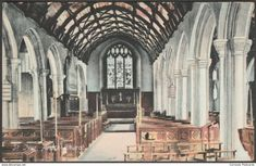 Parish Church, St Ives, Cornwall, 1909 - Frith's Postcard