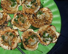 Saigon Street Food - Scallops