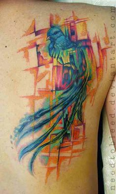 1000 Id&233es Sur Le Th&232me Tatouage De Quetzal Pinterest