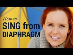 How to Sing from Diaphragm - Breathing for Singing - YouTube