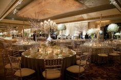 Delicate reception #weddings #decor #blisschicago