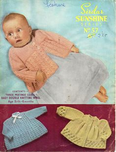 Baby Matinee Coats Baby Matinee Jackets Baby cardigans Baby Coats Baby jackets 18 inch DK Baby Knitting patterns PDF Instant Download by Minihobo on Etsy
