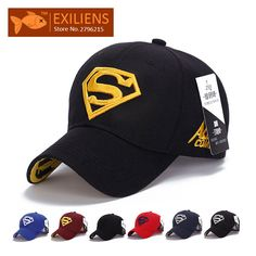 >> Click to Buy << [EXILIENS] 2017 New Fashion Brand Super man Top Snapback Caps Strapback Baseball Cap Bboy Hip-hop Hats For Men Women Fitted Hat #Affiliate