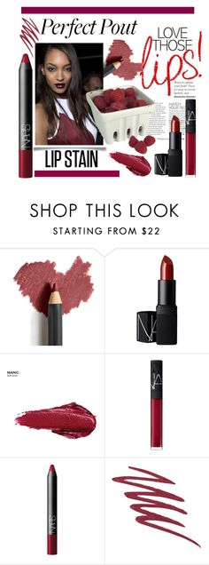"""""""perfect pouts 3"""" by theworldisatourfeet ❤ liked on Polyvore featuring beauty, Jane Iredale, NARS Cosmetics, Urban Decay, Artland and perfectpout"""