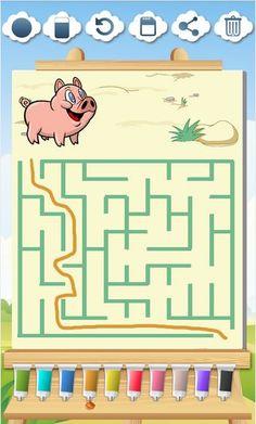La mejor app de animales de granja para niños. Farm Animals Games, Animal Games, Educational Games, Learning Games, Funny Puzzles, Fairy Drawings, Logic Games, Games For Boys, Memory Games