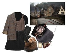 village by paper-freckles on Polyvore featuring polyvore Topshop Marc by Marc Jacobs HYD Dr. Martens Hobbs Made of Me fashion style clothing