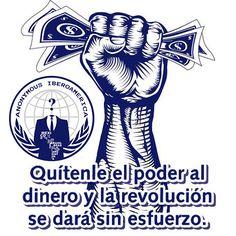 Quítenle el poder al dinero y la revolución se dará sin esfuerzo http://instagram.com/p/v4FRUrDuvq/ #Anonymous #Iberoamerica #AnonIbero
