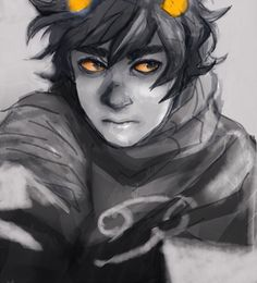 Karkat Vantas, lowblood cutiepants.// You know he took that picture TOTALLY BY ACCIDENT, right? : )