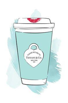 Tiffany Art, Tiffany And Co, Tiffany Blue, Canvas Art Prints, Wall Prints, Canvas Frame, Canvas Wall Art, Doodle, Fashion Wall Art
