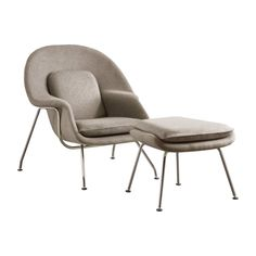 new-womb-chair-beige-set-profile Kitchen Window Curtains, Womb Chair, Bedroom Chair, Side Chairs, Lounge Chairs, Furniture Styles, Mid Century Design, Great Rooms, Interior
