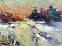 Colors of Winter by Trisha Adams Oil ~ 9 x 12