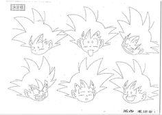Art Niche, Batman Drawing, Manga Dragon, Kid Goku, Character Model Sheet, Dbz Characters, Coloring Book Pages, Character Design References, Art Studies