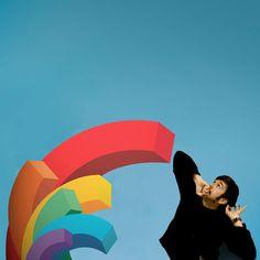 Whoa ! de la couleur, quel trésor ! Ce sticker apportera toute la couleur nécessaire à votre quotidien. La notion de distance, la frontière entre l'abstrait et le réalisme composent la légèreté de cette forme primaire dévoile toute la poésie de ces visages. Icon3 serie. #stickers #walldecals #home #deco #maison #mur #pop #rainbow #arcenciel #colors #couleurs
