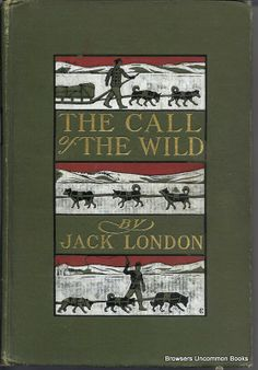 Jack London. Call of the Wild. MacMillan, 1903, Fist Edition, 3rd printing (September). Same date on title page and copyright page. Mild sl...