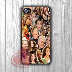 Miley Cyrus Collage - dizi for iPhone 4/4S/5/5S/5C/6/ 6+,samsung S3/S4/S5,samsung note 3/4