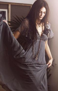 Elegant, casual, boho dress