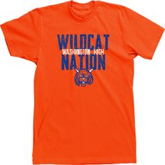Mascot T-shirts Designs High School Custom Tshirts Wildcat Nation