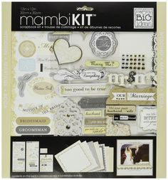Amazon.com: me & my BIG ideas Scrapbook Page Kit, Forever Our Marriage…