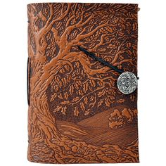 Tree embossed leather journal. THIS IS THE PRETTIEST THING EVER