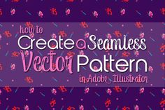 Seamless Vector Background Tutorial - kaytidesigns.com