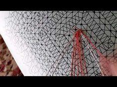 YouTube Irish Crochet, Crochet Lace, Bobbin Lace Patterns, Lace Heart, Lace Jewelry, Needle Lace, Lace Making, Lace Detail, Tatting